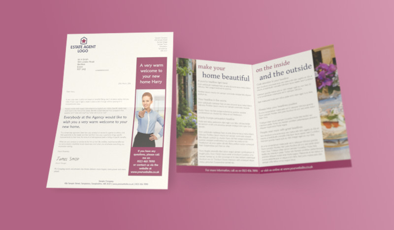 A4 Letter and Leaflet Format