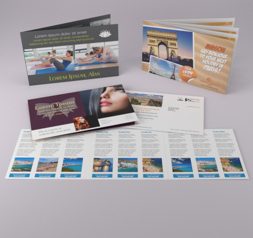 Full colour digital brochure printing